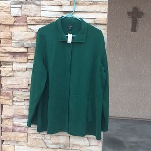 Talbots Women's size 2X green in color with tags